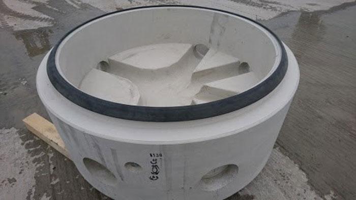 منهول پیش ساخته بتنی ساخته شده توسط گروه فنی مهندسی اوژن اطلس سپهر
