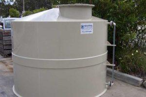 ذخیره آب یکی از مزایای کاربرد مخازن پلی پروپیلن