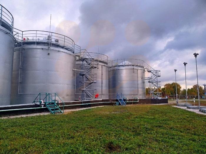 پکیج تصفیه فاضلای صنعتی ساخت گروه مهندسین اوژن