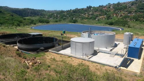 water treatment of landfill leachate