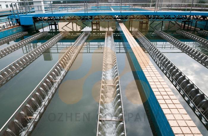 پکیج تصفیه فاضلاب صنعتی ساخت گروه فنی مهندسی اوژن اطلس