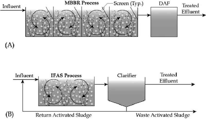 فرآیند تصفیه فضلاب IFAS