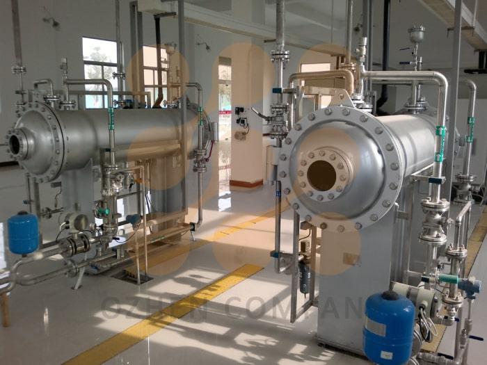 تصفلیه آب و فاضلاب توسط ضد عفونی کننده ازن ارائه شده توسط گروه مهندسین اوژن