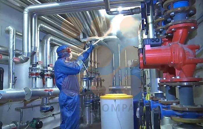 فرآیند ضد عفونی و تصفیه آب و فاضلاب توسط ماده شیمیایی ازن
